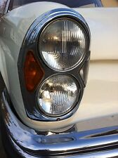 4x W111 Scheinwerfer NEU Mercedes Benz Coupe Cabrio 250SE 300SE 220SEb H4+H1 US