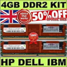 DELL HP Hynix 4Gb 2 x 2Gb DDR2 PC2 5300F FBDIMM Fully Buffered Memory | NEXT DAY