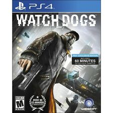 New! Watch Dogs (PlayStation 4, 2014) - U.S. Retail Version! Ships Worldwide!
