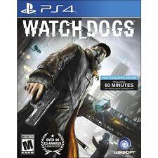 New! Watch Dogs (PlayStation 4, 2014) - U.S. Retail Version! Ships Worldwide!
