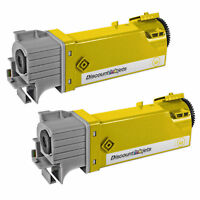 2PK 106R01596 for Xerox Yellow Laser Toner Cartridge Phaser 6500 WorkCentre 6505