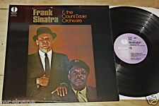 FRANK SINATRA & THE COUNT BASIE ORCHESTRA UK VALIANT JAZZ SWING STEREO LP 1963