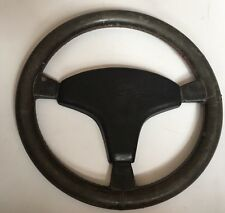 VAUXHALL MANTA ASCONA  CAVALIER MK2 NOVA VECTRA  LEATHER IRMSCHER STEERING WHEEL