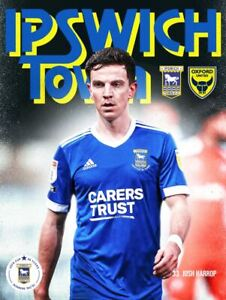 Ipswich Town v Oxford United 2020/21 ~ League 1 Programme 20/2/2021