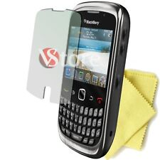 5 PZ FILM PROTECTOR SAVE SCREEN LCD FOR RIM BLACKBERRY CURVES 9300 3 G PRO