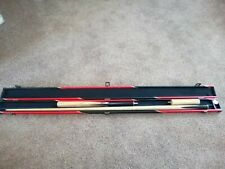 snooker cue peradon 2 piece with case and extenion butt