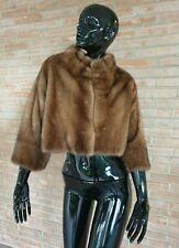 Giacca in PELLICCIA di visone mink fur jacket fourrure peltz Nerz vison