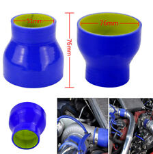 3 Ply 51mm/76mm Car Silicone Hose Intercooler Turbo Coupler Tube Intake Pipe 1PC