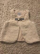 Tahari Baby Girl Fur Vest (6-9 Months)