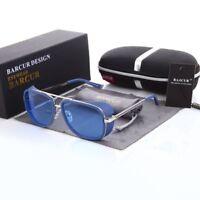 Mirrored Tortoise Sunglasses Steampunk Sunglasses Gradient Fashion Accessories