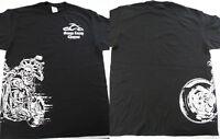 Orange County Choppers OCC Liberty Bike Biker Black T-Shirt