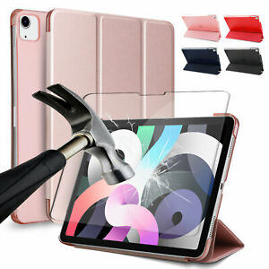 For iPad Air 4 10.9 (2020) / Pro 11 Flip Leather Stand Case /HD Screen Protector