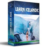 Learn Icelandic-Faroese language DVD-rom 22 E-book collection +6 Audios-