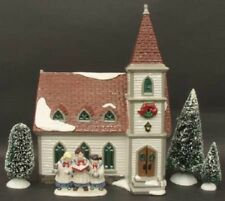 "* Dept 56 Snow Village ""Snow Village Starter Set"", Set Of 6 - Nib *"