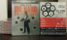 Die Hard Collection BluRay SteelBook MA Digital HD Ltd Ed FREE PRIORITY Shipping