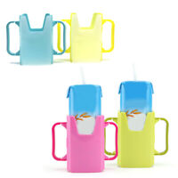 FP- JS_ KF_ Telescopic Baby Toddler Juice Milk Safety Box Bottle Cup Holder with
