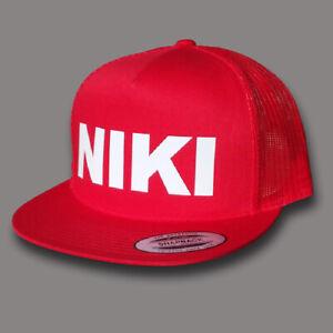 NIKI LAUDA F1 Monaco GP Drivers Tribute 5 Panel Snapback Trucker Cap OSFM New