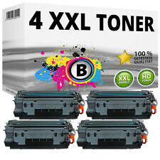 2x CE255X 55X TONER PER HP P3015 P3015d P3015dn P3010 MFP M521dn ad alta capacità