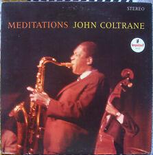 John Coltrane Meditations LP 70's green label RE Impulse Pharoah EX/NM- Vinyl!!