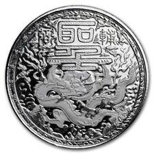 500 Francos Imperial Dragon Dragón Camerún 1 Onza Plata 999 Moneda de Prooflike
