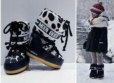 BABY GIRL's MOON BOOT TENICA DALMATIAN SNOW BOOTS $125 EURO 23-26 / U.S. 2-3 yrs