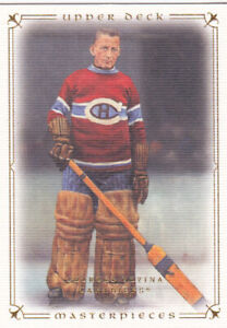 08/09 UD MASTERPIECES..GEORGES VEZINA..# 29..CANADIENS.FREE COMBINED SHIPPING