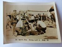 Original WW2 prisoner of War photo SPORTS DAY Stalag Luft 3 C6