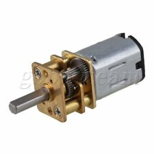 DC 6V 1000RPM Mini Gearwheel Speed Reduce Geared Electric Motor with 3mm Shaft