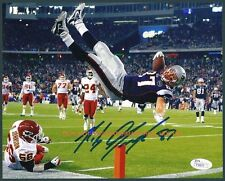 ** ROB GRONKOWSKI ** New England Patriots Autographed 8x10 Photo (RP)