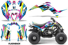 Grafik Kit Sticker für Yamaha Raptor 90 Yfm90 2016-2018 Flashback