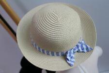 Gymboree Cabana Baby Girls Hat Size 6-12 M NWT Straw NEW