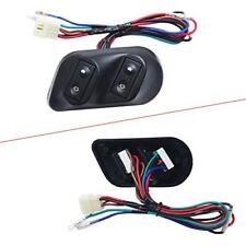 12V Autos Car Universal Power Door Window Glass Lift Switch Kits+Wiring Harness
