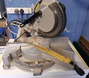 Dewalt DW712-GB  SLiding Compound Chop Saw/ Mitre Saw 240v