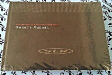 "2009 MERCEDES MCLAREN SLR ""STIRLING MOSS"" OWNERS MANUAL OEM GUIDE ULTRA RARE A+"