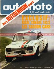 AUTO MOTO JOURNAL 32 YAMAHA 125 YAS 3 RS 1600 DANGEL Silverstone GP ULSTER 1971