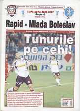 Hertha BSC Berlin Programm Gazeta UEFA Cup 2005//06 Rapid Bukarest