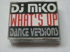 DJ MIKO what's up (Dance versions, 1993, #zyx/dst1181) [Maxi-CD]