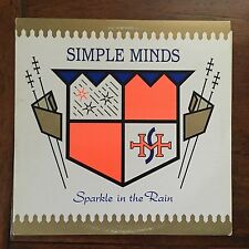 80s New Wave- Simple Minds Sparkle in the Rain Virgin 1983 VL 2274 Canada NM