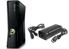 Microsoft Xbox 360 Slim Console (4GB) with Power Supply