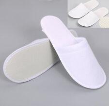 #56 White Disposable Slipper Slip Flip Flop Sandals For Hotel or Home or Travel