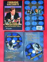 teatro,tv,corrado guzzanti,il caso scafroglia,libro+2 dvd marco marzocca,box set