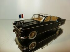 HECO CITROEN TRACTION 15CV CHAPRON PRESIDENTIELLE - 1:43 RARE - EXCELLENT  - 12