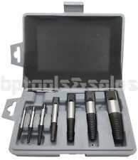 "8pc JUMBO SCREW EXTRACTOR SET EZ OUT DAMAGED BOLT STUD PIPE REMOVER 5/32""-15/16"""