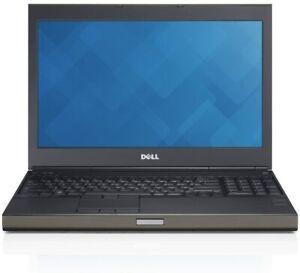 Dell M4800 - Intel i7-4810MQ, 16GB RAM,256GB SSD,Dual Graphics,Win 10 + Warranty