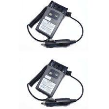 2X Original Wouxun 12-24V Battery Eliminator For KG-UVD1P KG-UV6D Walkie Talkie