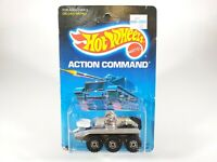 Hot Wheels Radar Ranger Action Command Series 5022 New 1986 Silver CTS 1:64