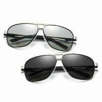 Night Vision Sunglasses Polarized Photochromic Driving Glasses UV400 Mens I486