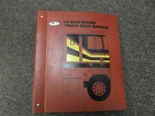 1989 Ford CL9000 & CLT9000 Truck Shop Service Repair Manual Cummins Caterpillar