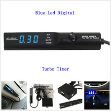 General APEXI Auto Turbo Timer For NA &Turbo Black Pen Control Blue k LED Unit