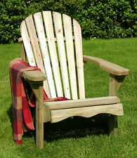 Lily chair / Relaxing wooden garden chair